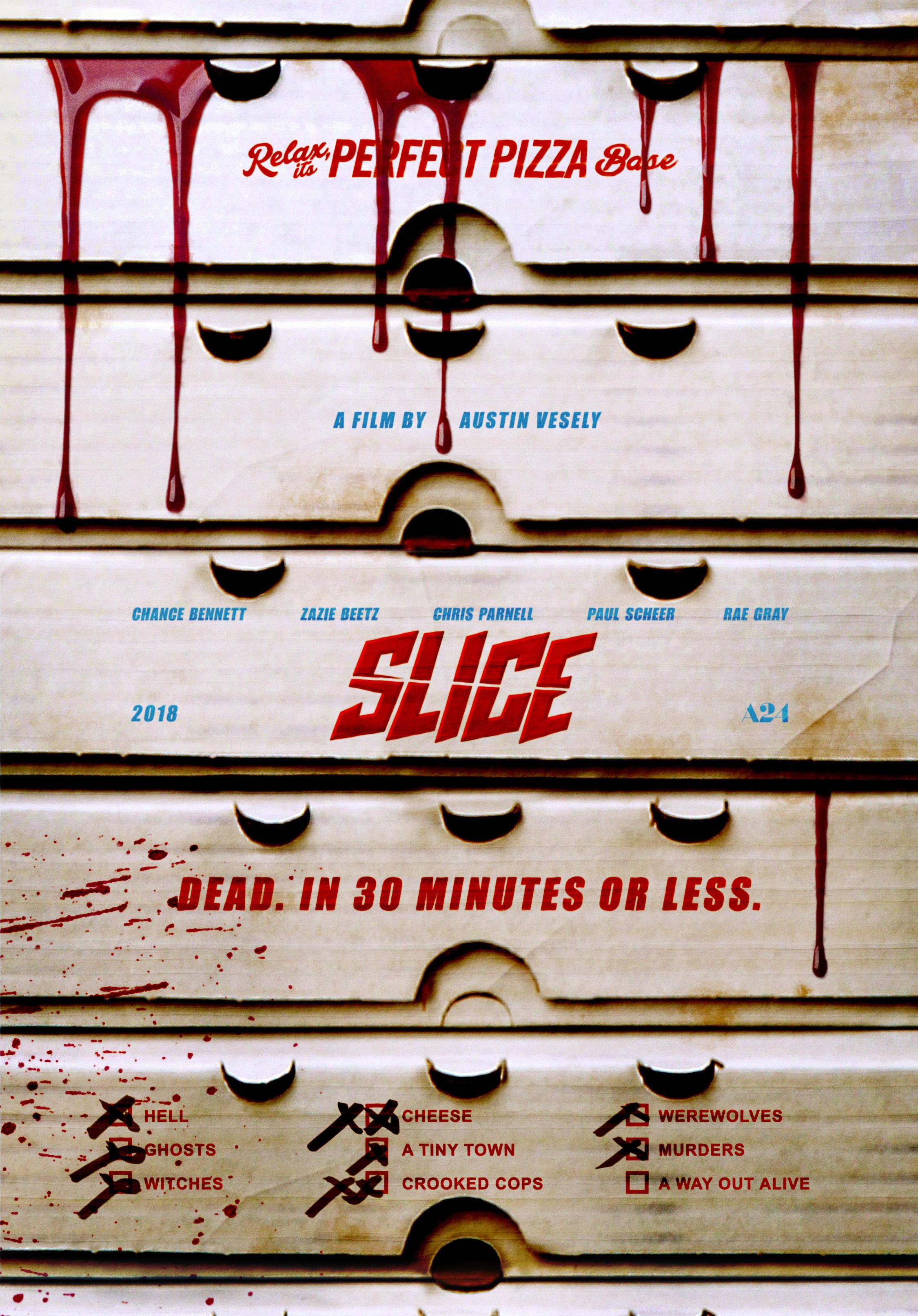 'Slice' poster
