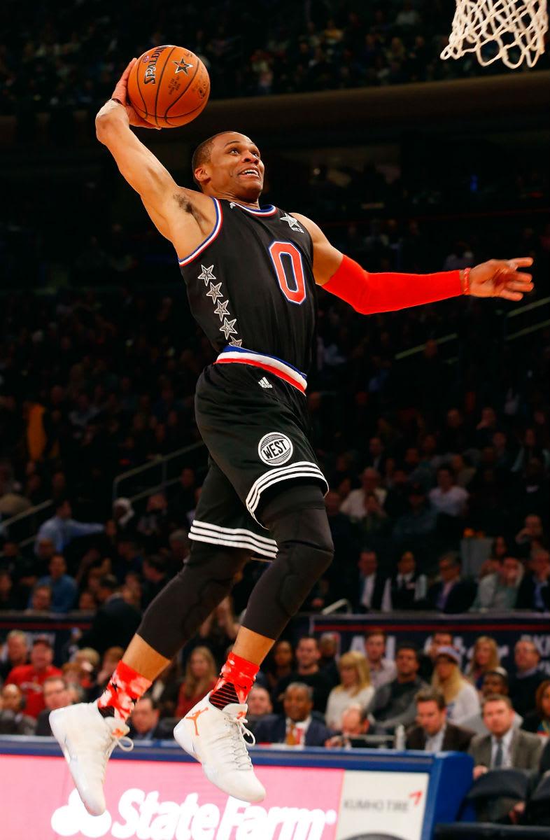 Russell Westbrook Wins 2015 NBA All-Star MVP in Air Jordan 29 PE