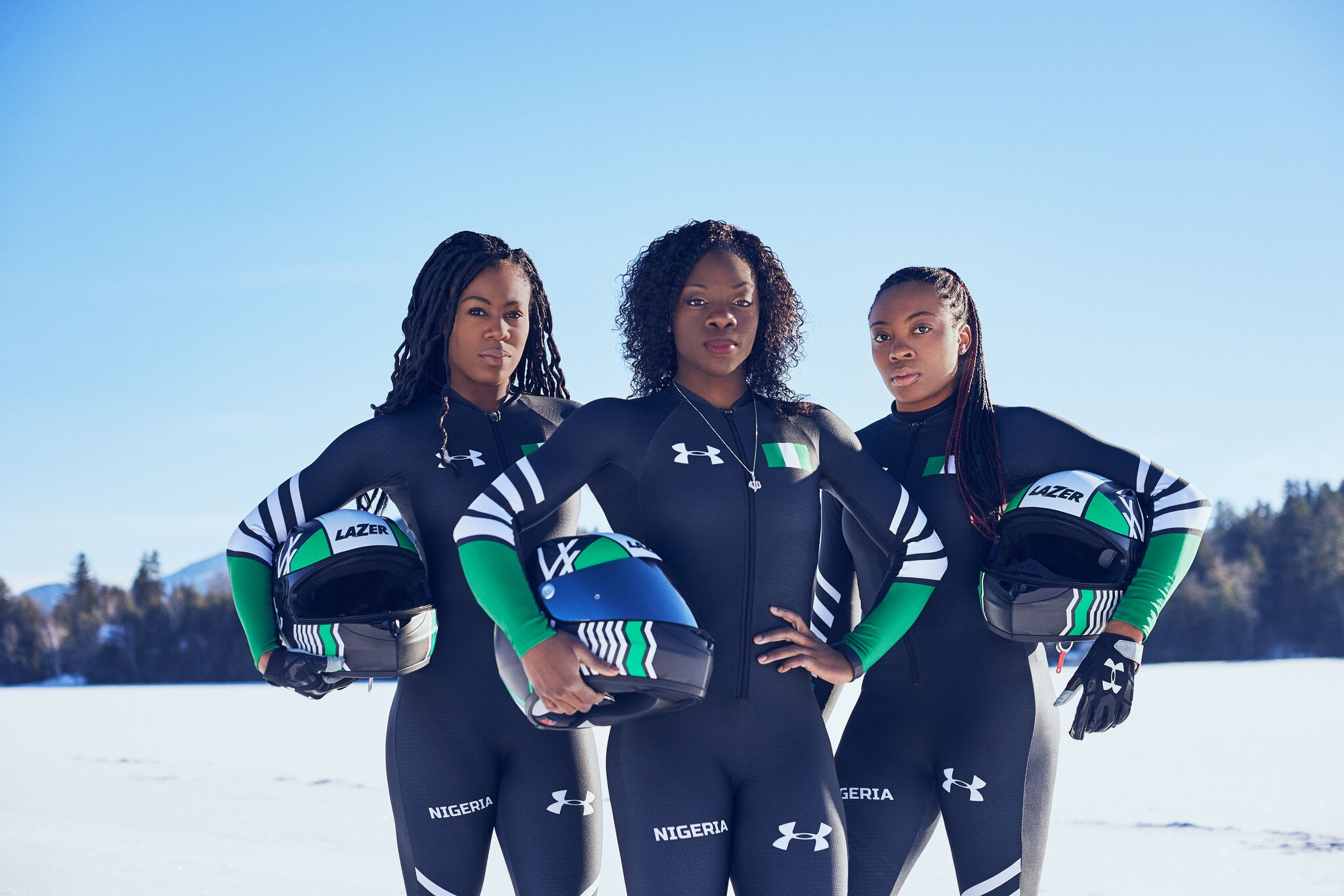 Nigerian Women's Bobsled Team 2018 olympics