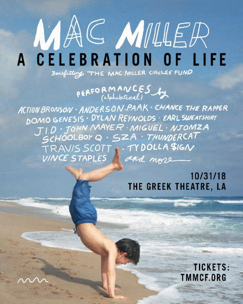 Mac Miller 'A Celebration of Life' Concert