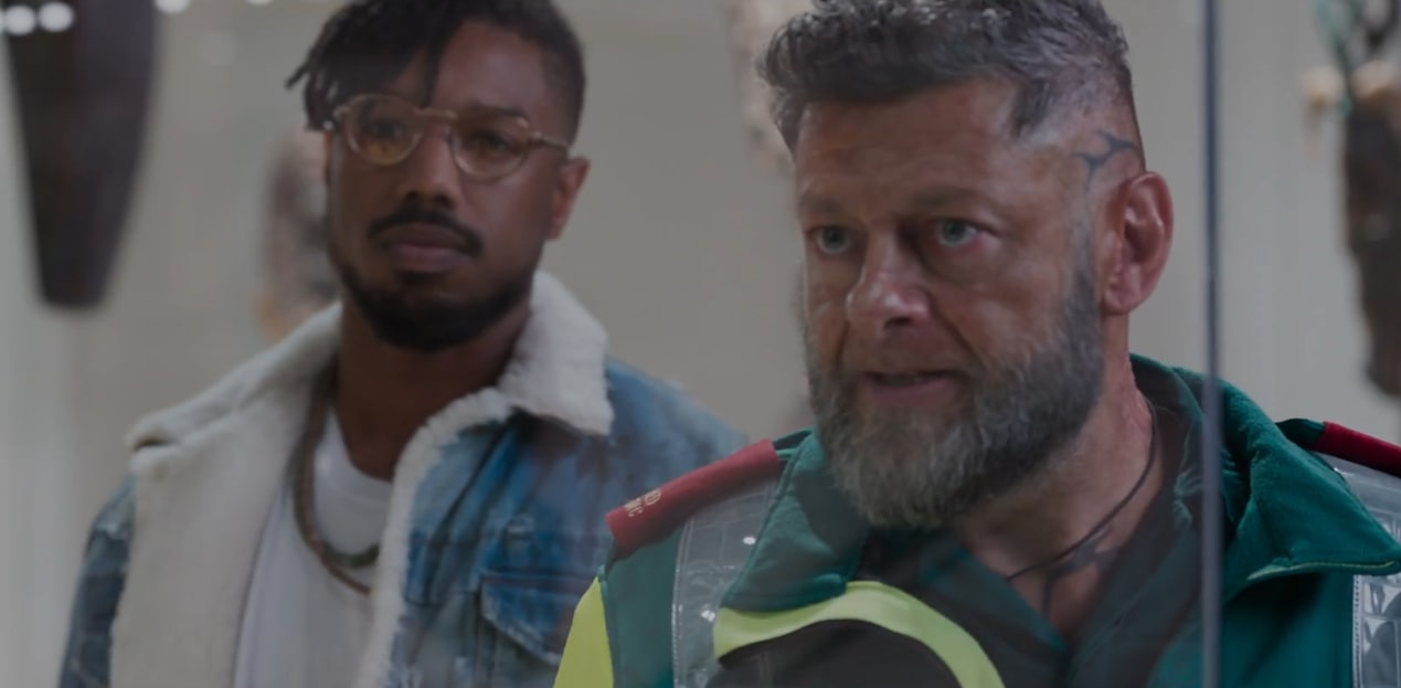 Killmonger and Klaue, 'Black Panther'
