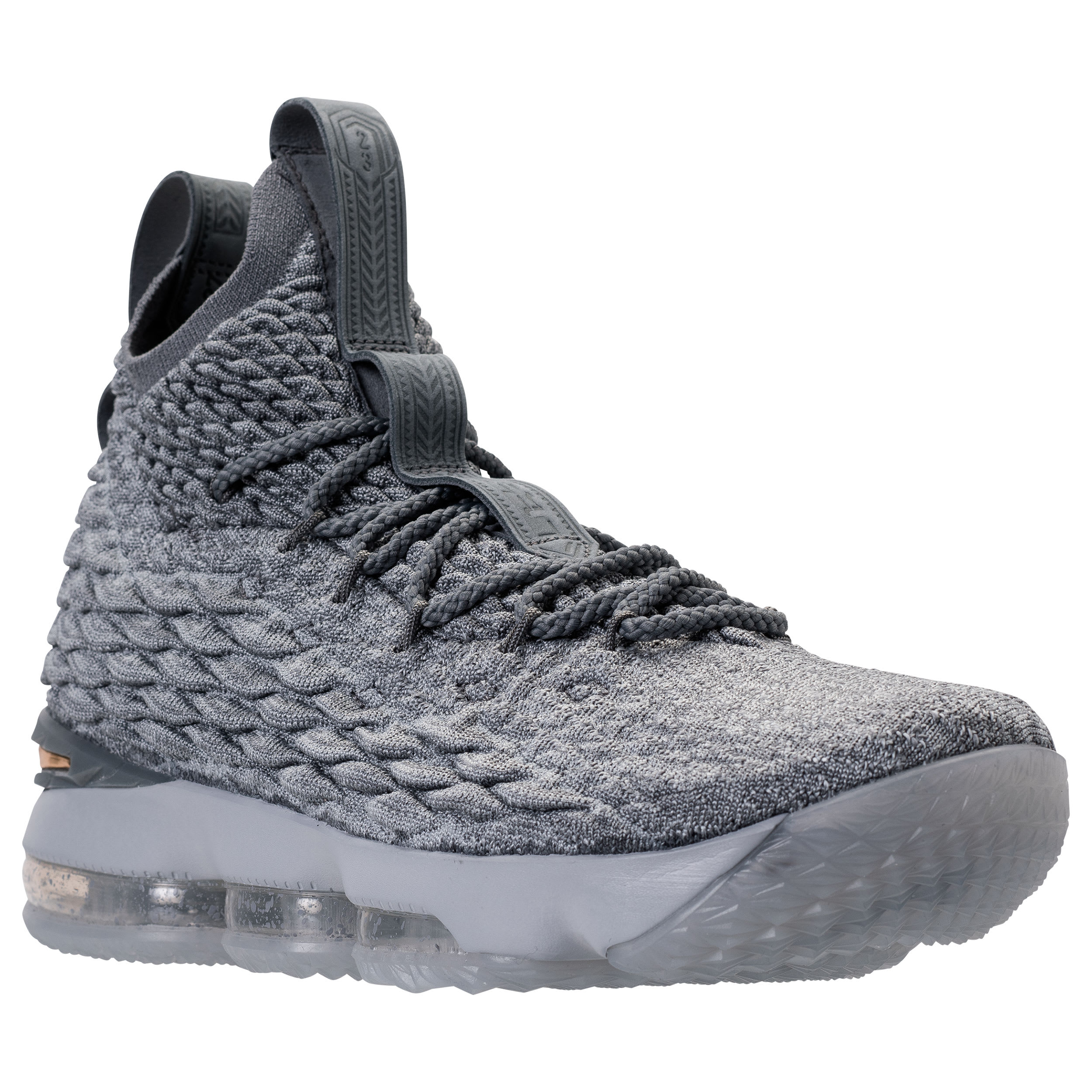 Nike LeBron 15 Grey Gold Release Date 897648-005 | Sole Collector