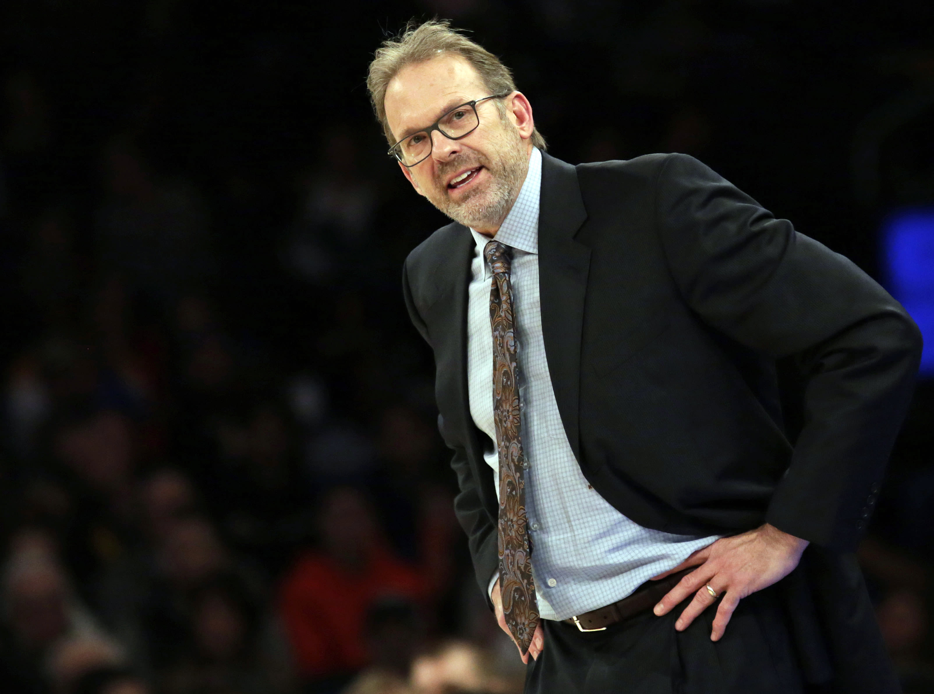 Kurt Rambis New York Knicks Interim Coach 2016