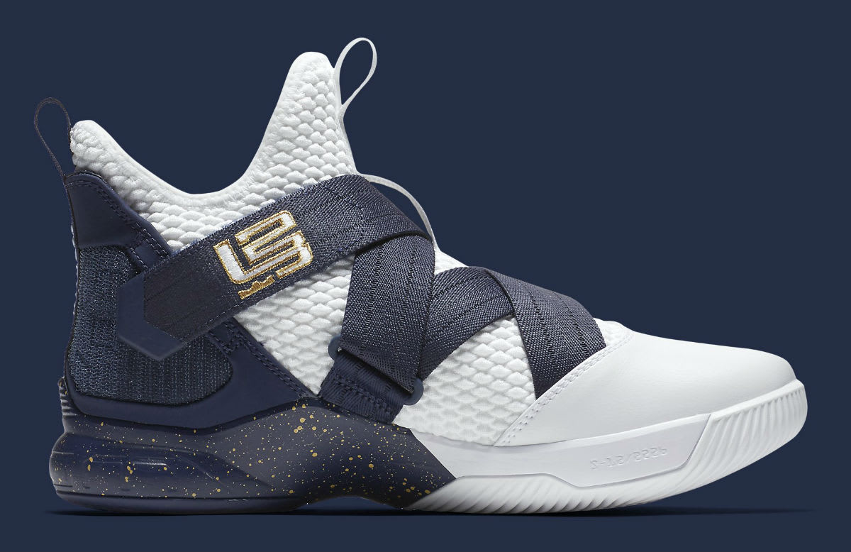 1f616c1fd89 ... cheapest nike lebron soldier 12 xii witness navy release date ao4055  100 medial 46813 3e0e6