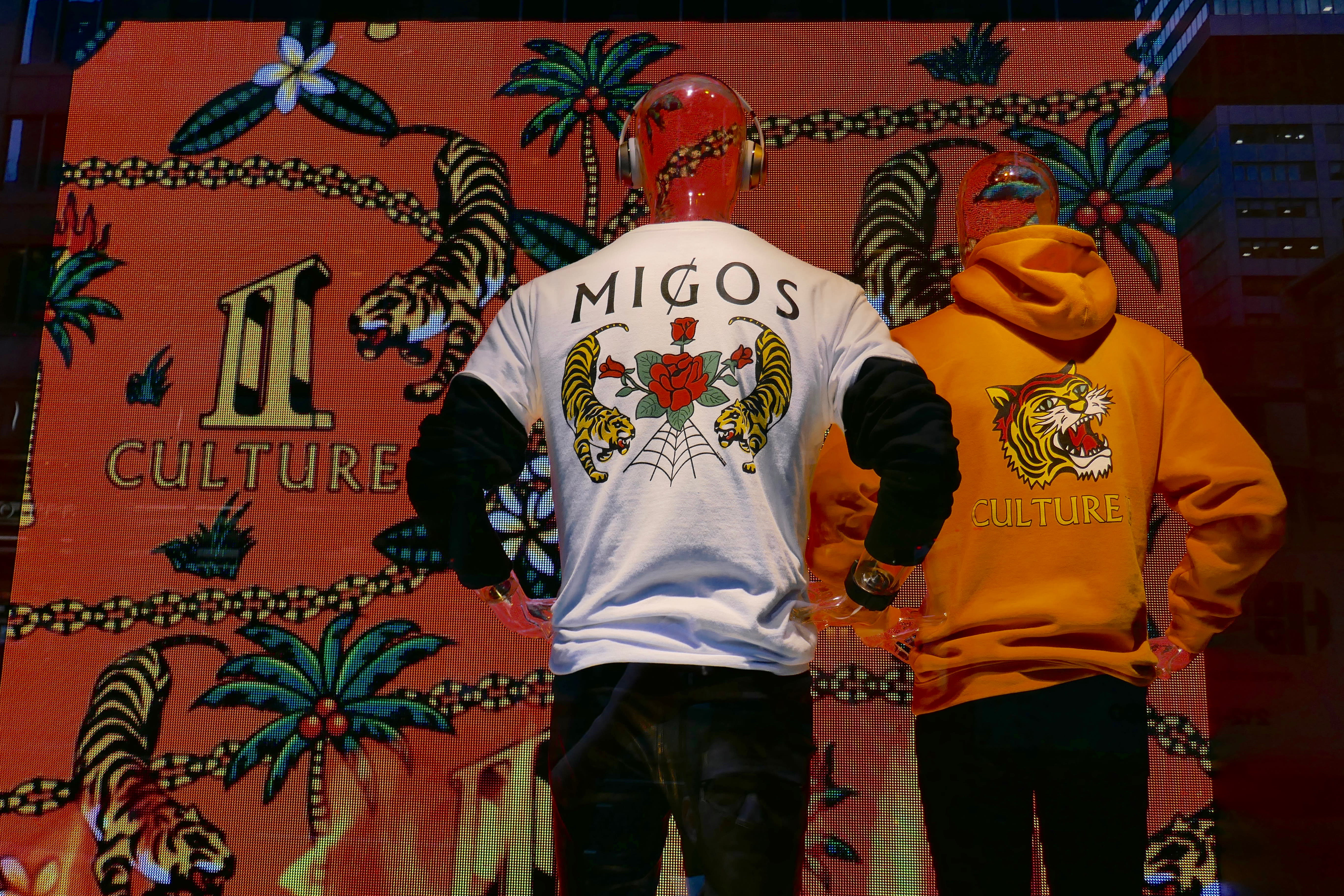 Migos 'Culture II' Merch Window 2