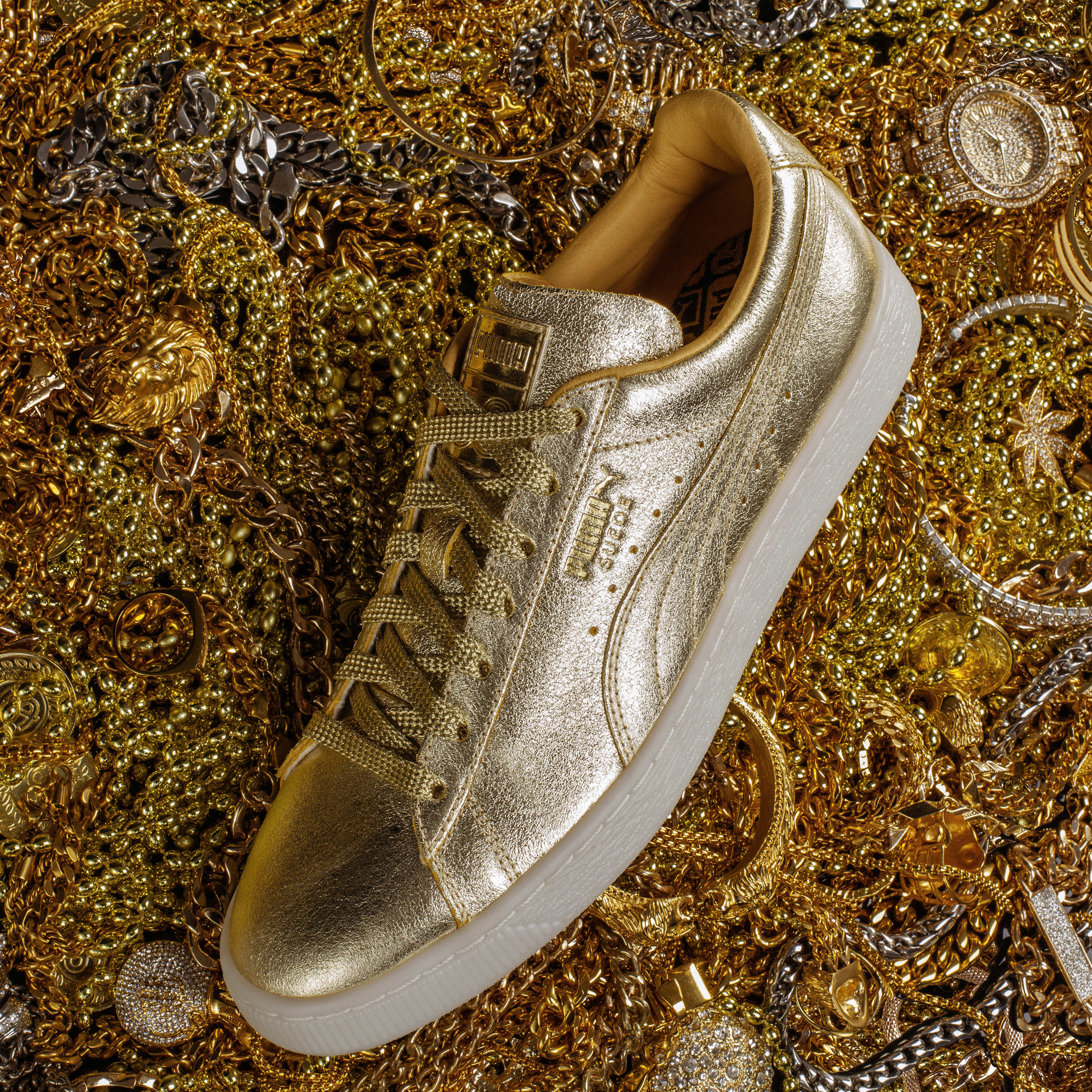 Puma Releases Golden Suede To Celebrate Suede's 50th Anniversary