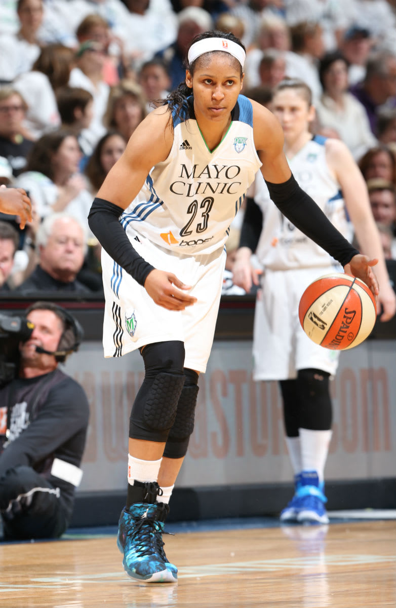 Maya Moore Wins Third WNBA Championship in the Year of the Goat Air Jordan 29