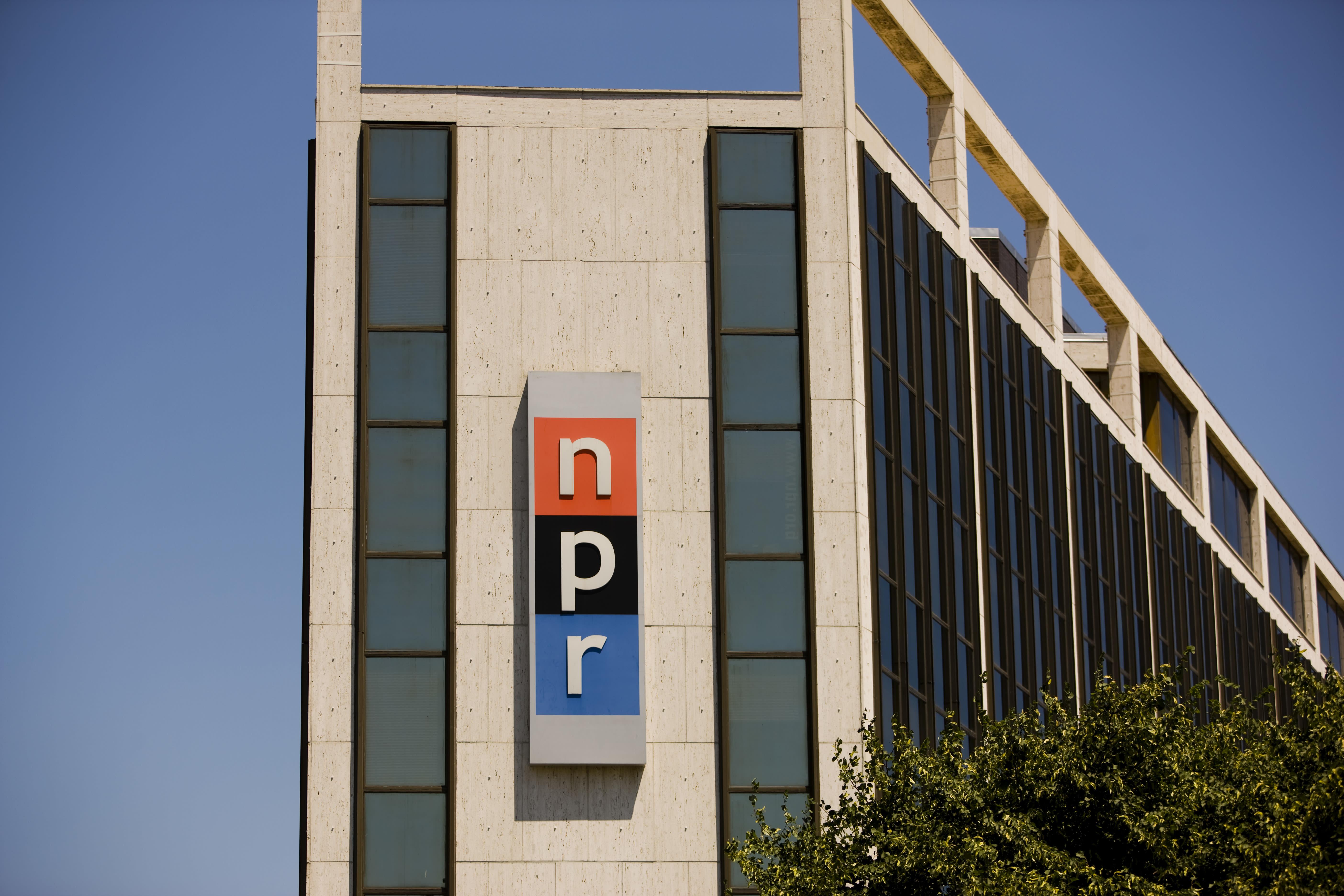 NPR building in Washington, DC
