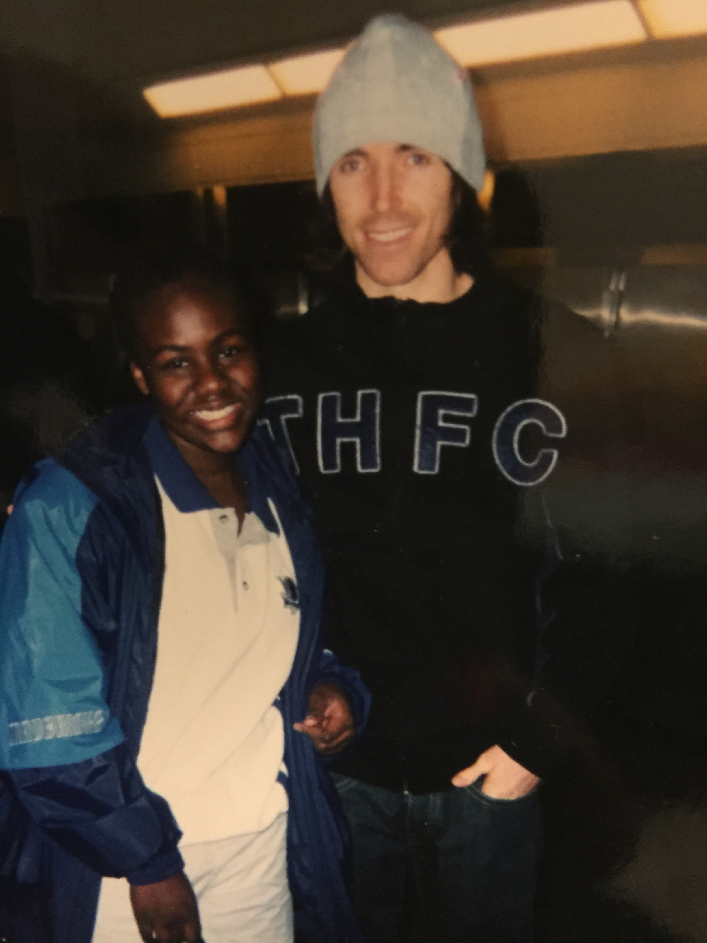 Ivy Awino and Steve Nash