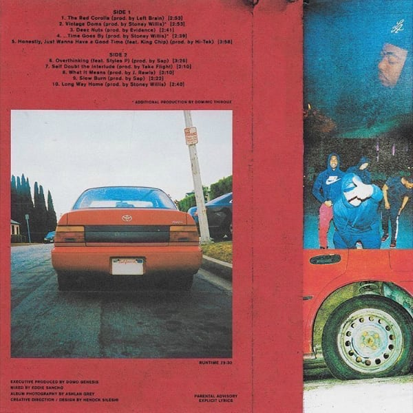 Image result for domo genesis red corolla back