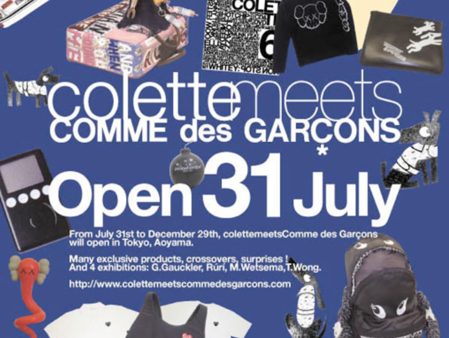 Colette x Comee des Garçons