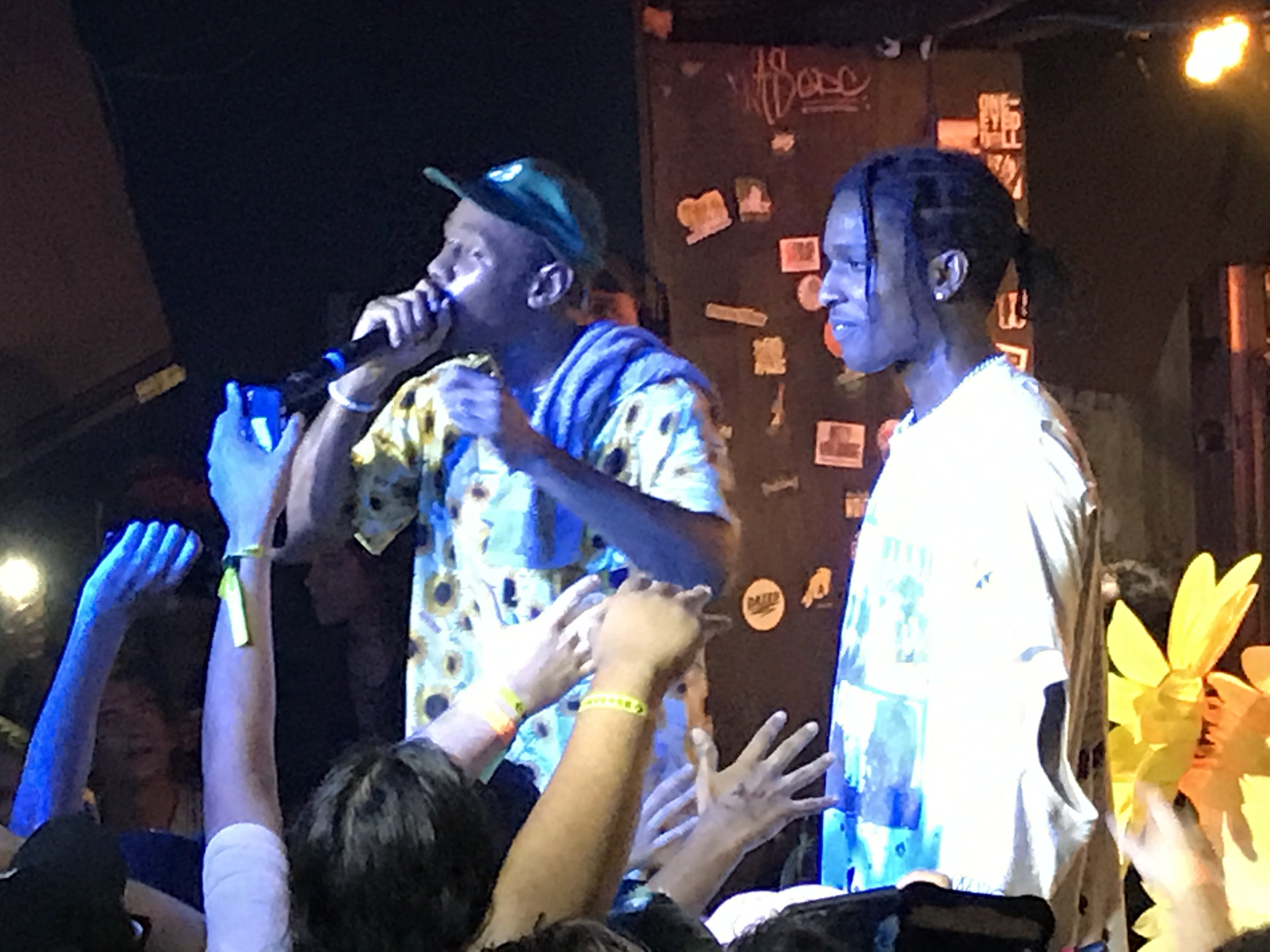 Tyler, the Creator Brings Out Frank Ocean & A$AP Rocky in NYC
