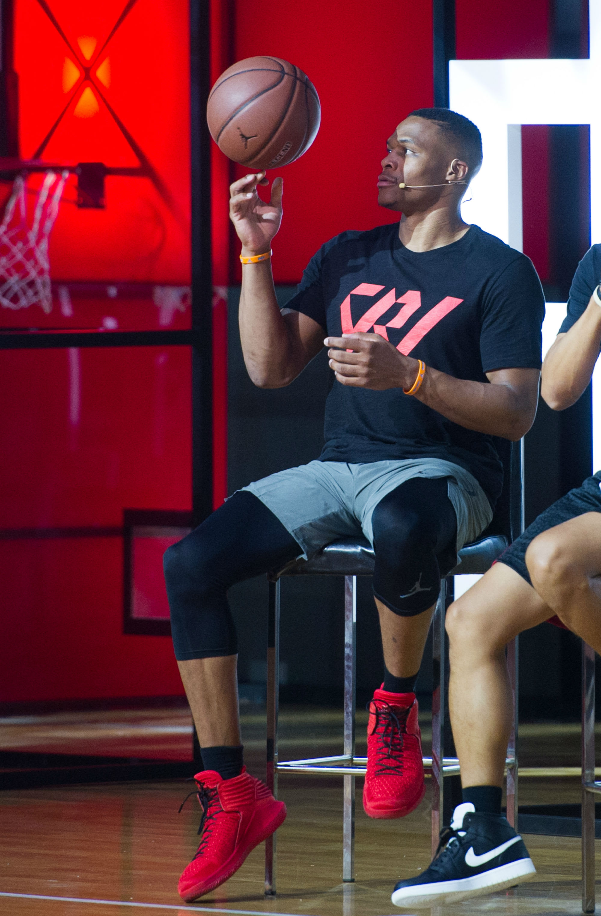 Russell Westbrook Tours China Air Jordan 32 (9)
