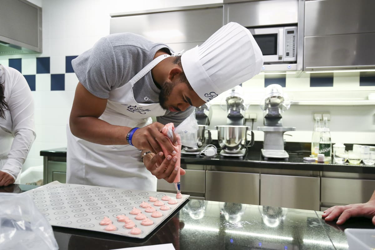 Karl-Anthony Towns cooking