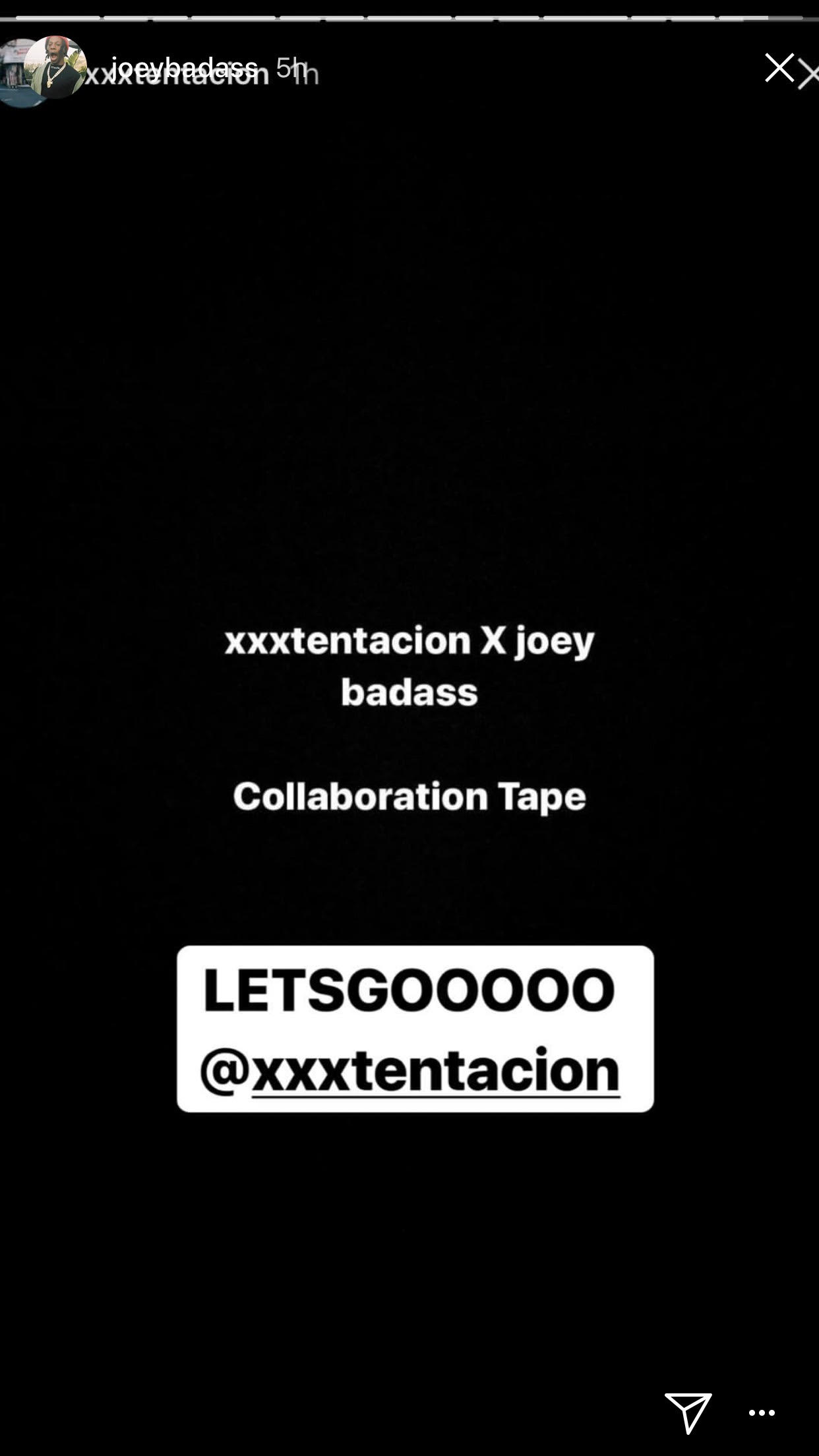 joey badass xxxtentacion collab