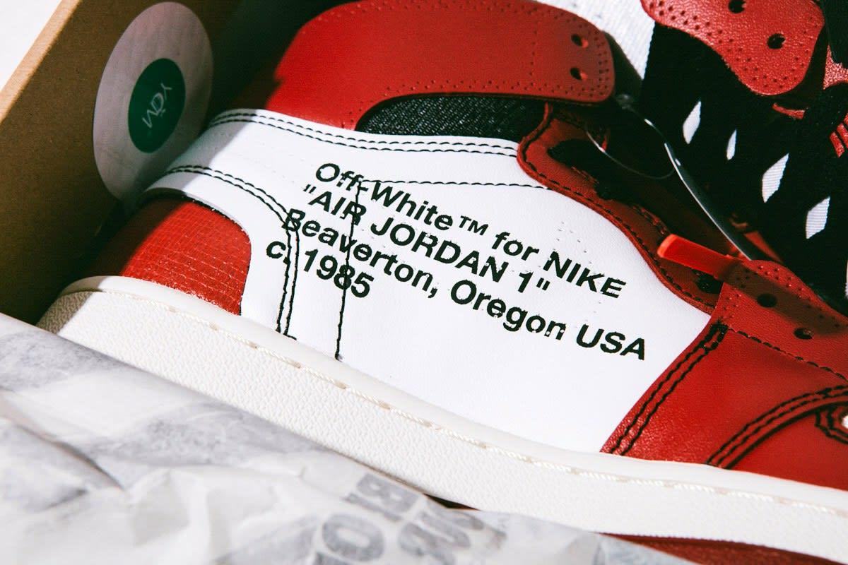 Самый детальный взгляд на Off White x Air Jordan 1!