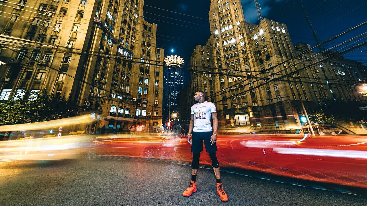 Russell Westbrook Tours China Air Jordan 32 (1)