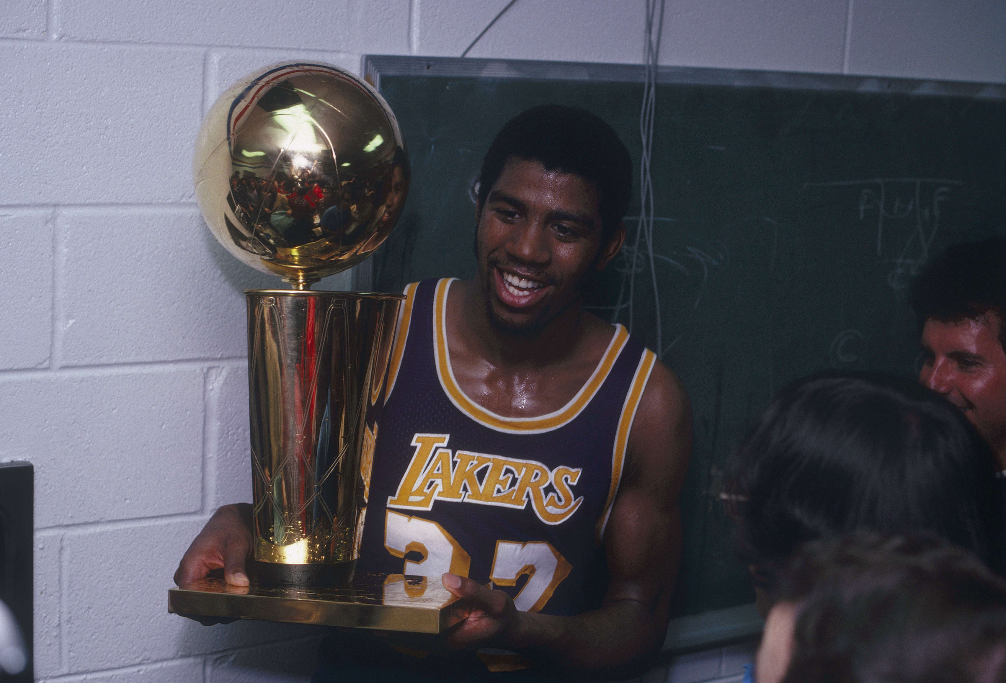 Magic Johnson Lakers 1980