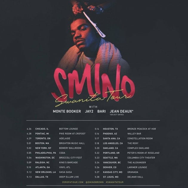smino-swanita-tour