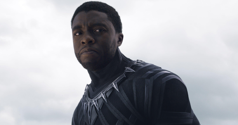 Chadwick Boseman is the Black Panther