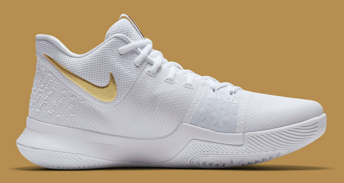 ... coupon for nike kyrie 3 white gold christmas release date 852396 902  sole collector 8f536 16be2 71f372c1b