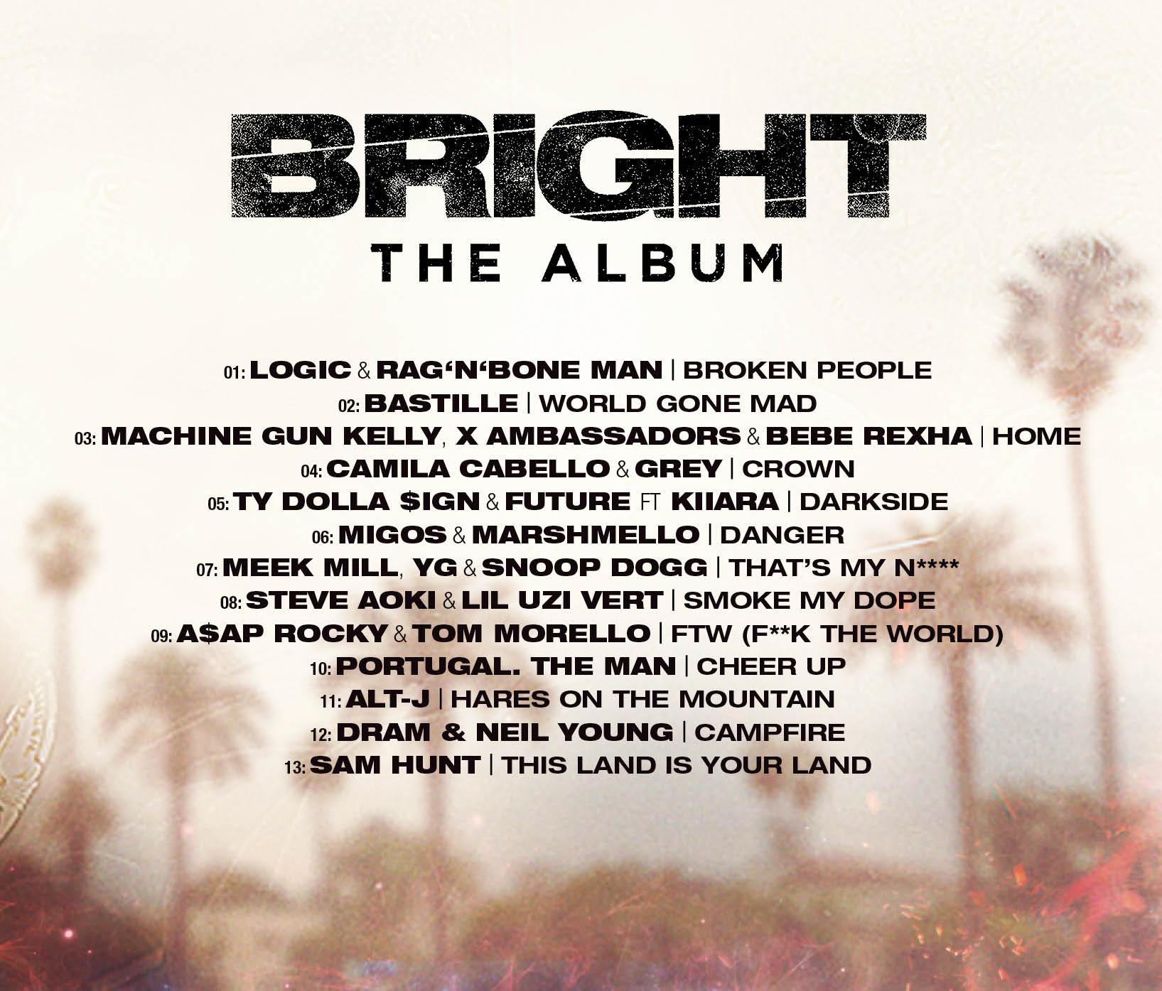 """""""Bright: The Album"""""""