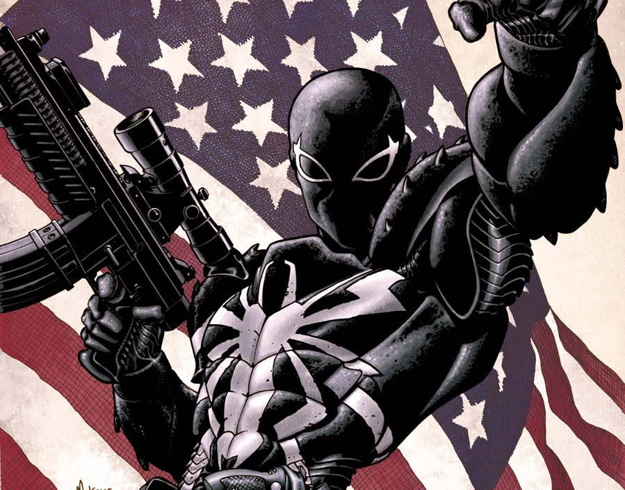 Flash Thompson as Venom