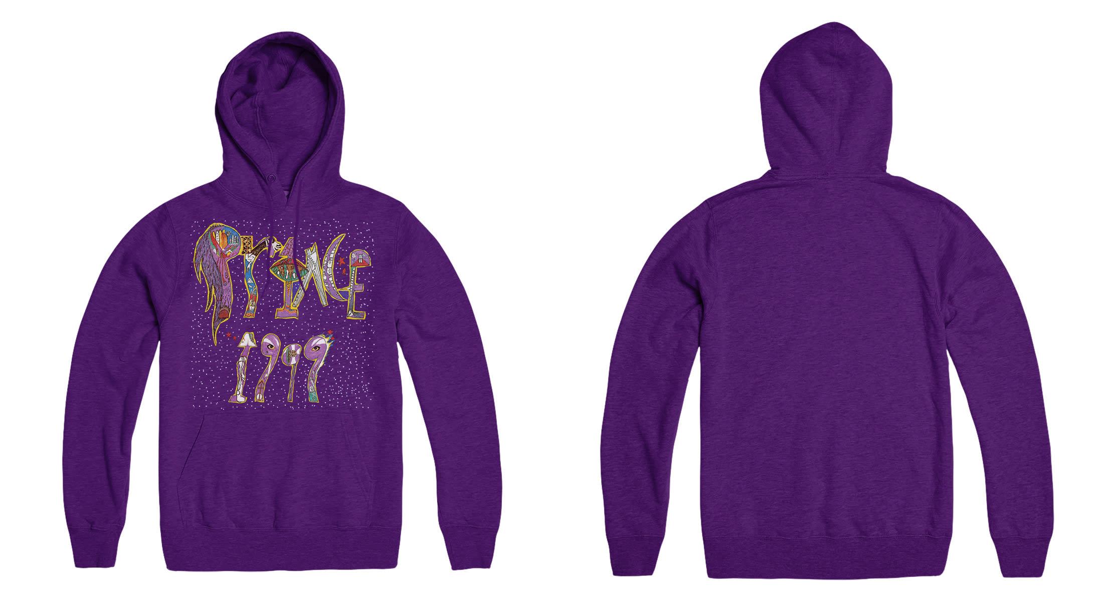 Prince '1999' Hoodie (purple)