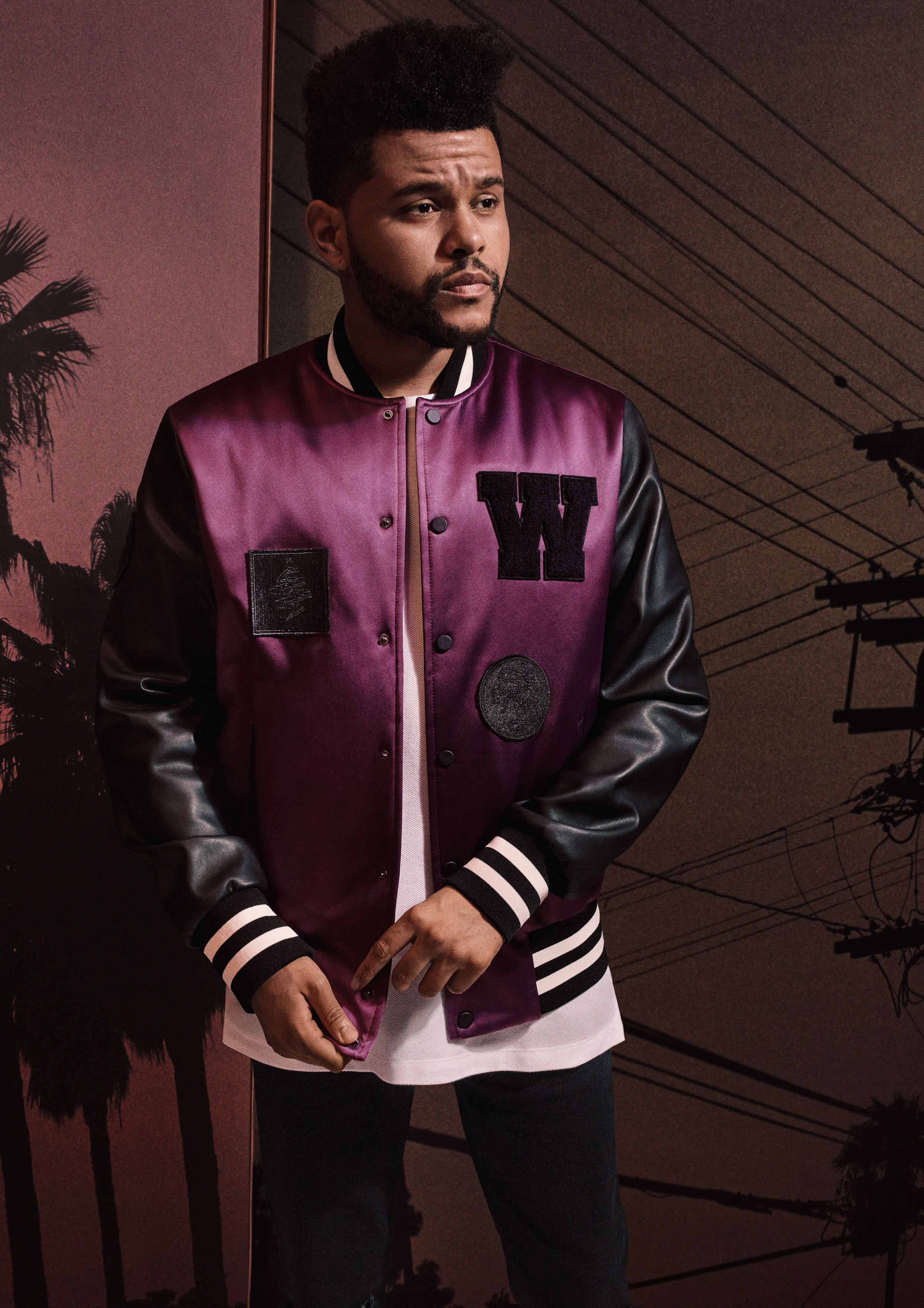 Here 39 S A Full Look At The Weeknd 39 S New Collaboration With H M Complex