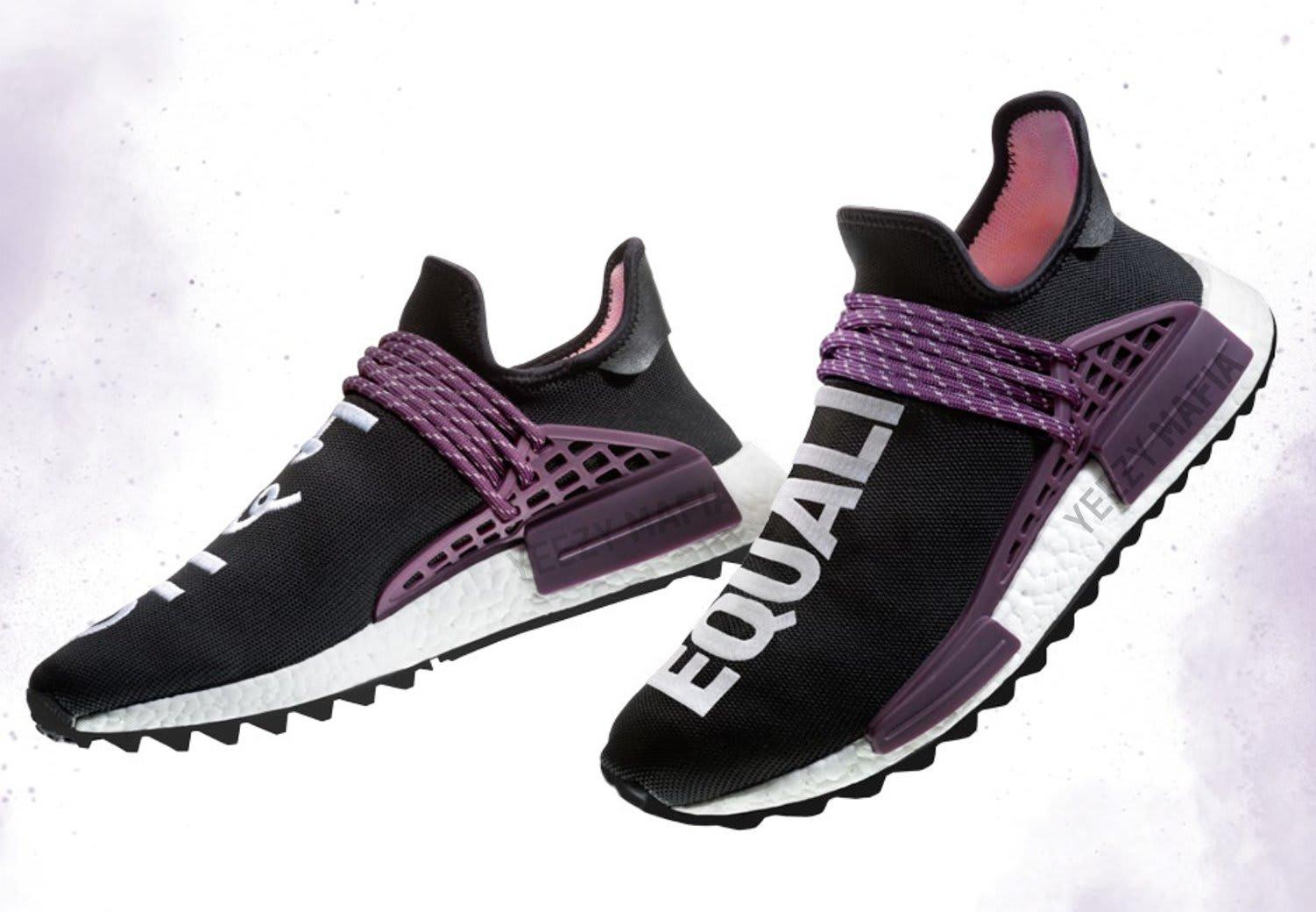 ... great deals dc242 5691a Pharrell x Adidas NMD Hu Holi Deepest Purple  AC7033 ... 955d564d0