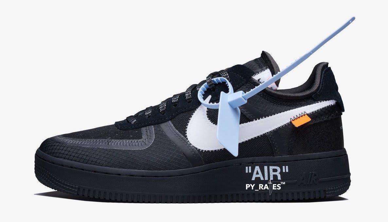 Off-White x Nike Air Force 1 'Black/White'