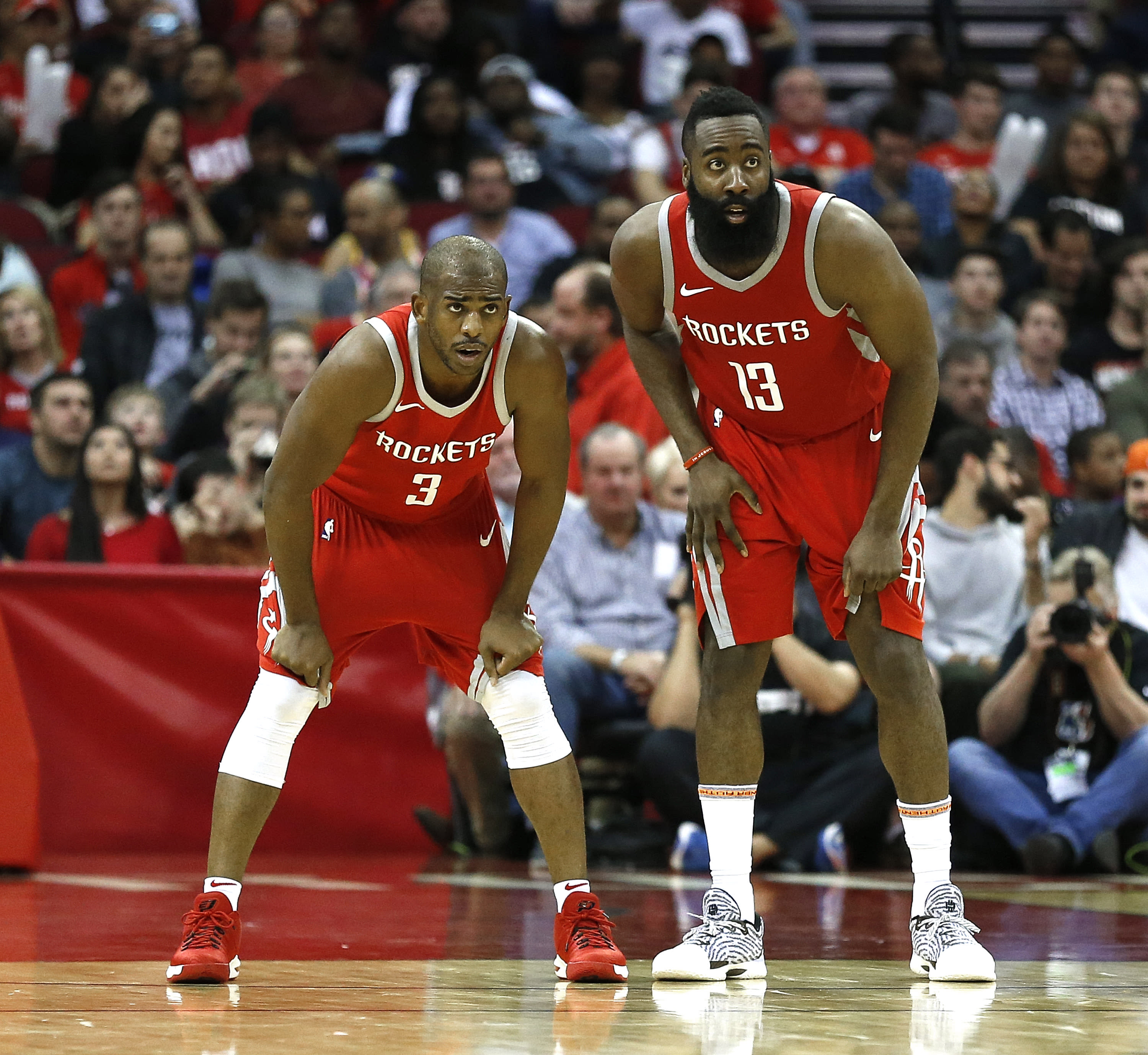 CP3 and James Harden.