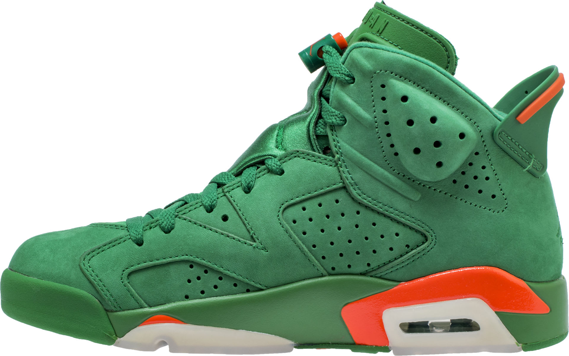 ef97d8d3f01a8d Air Jordan 6 Nrg Gatorade Pine Green Orange Blaze Aj5986 335 Basketball  Shoes  Air Jordan 6 VI Gatorade Green Release Date AJ5986-335 Medial . ...