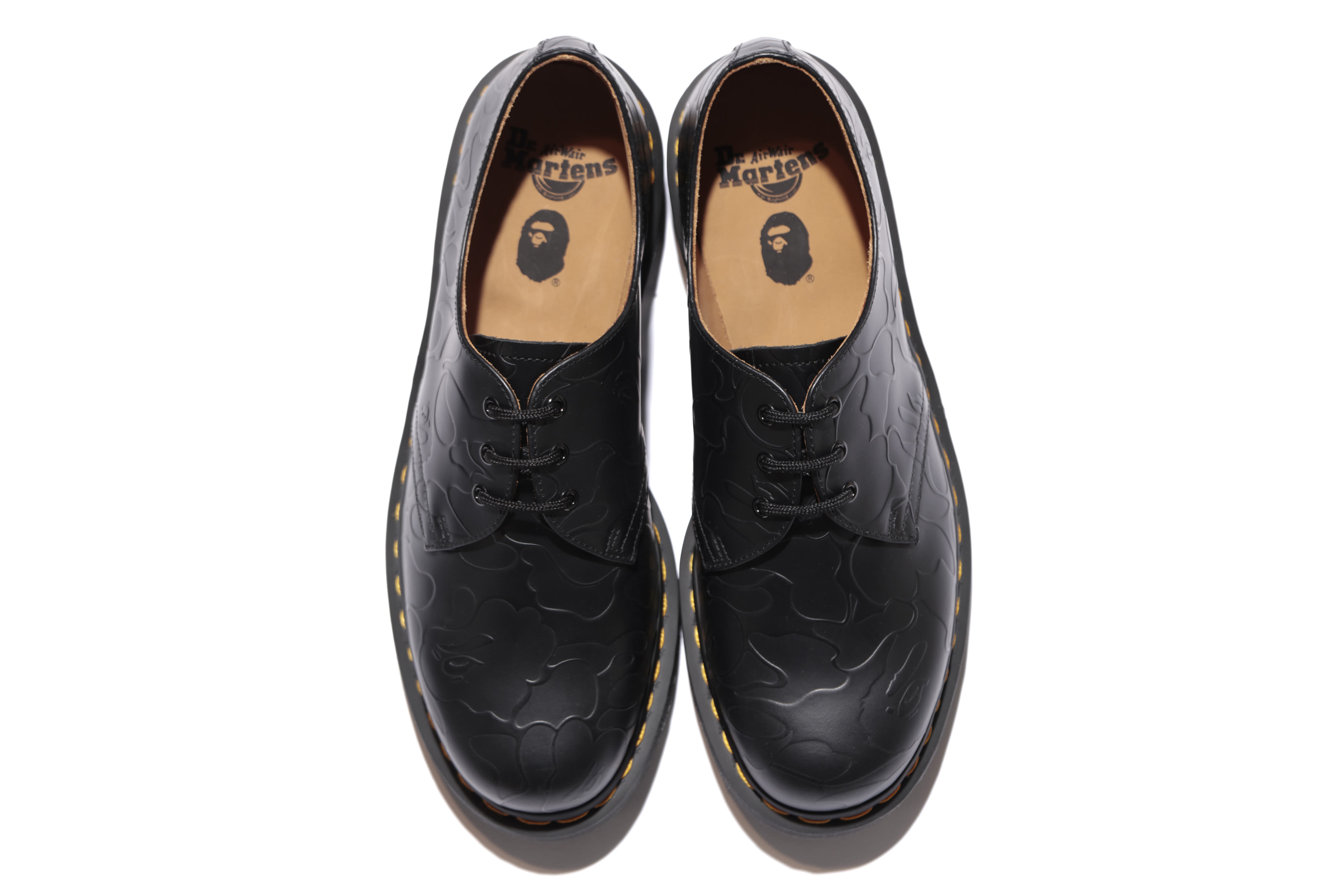 Bape x Dr. Martens 1461 'Black' (Top)