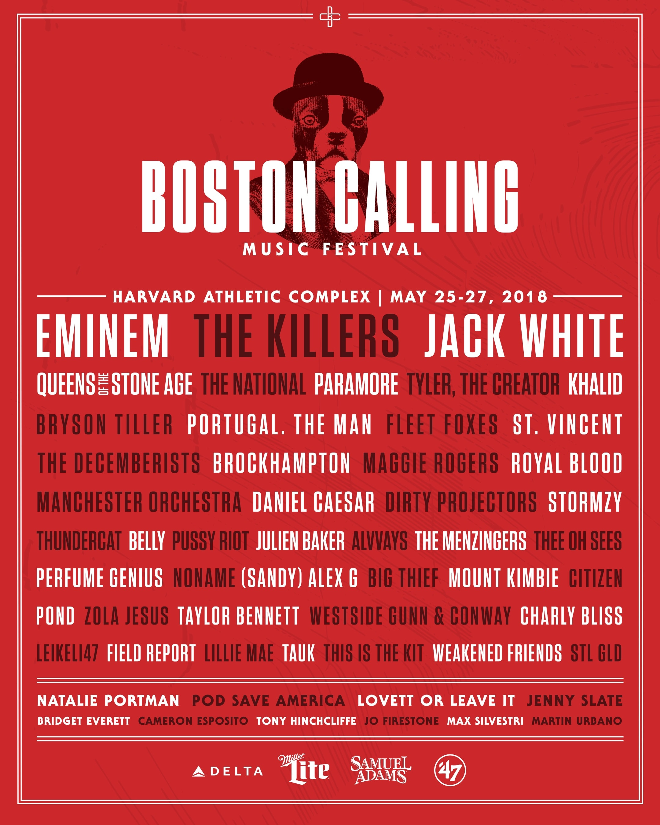 Eminem, Jack White, The National and +50 Artists Booked for Boston Calling
