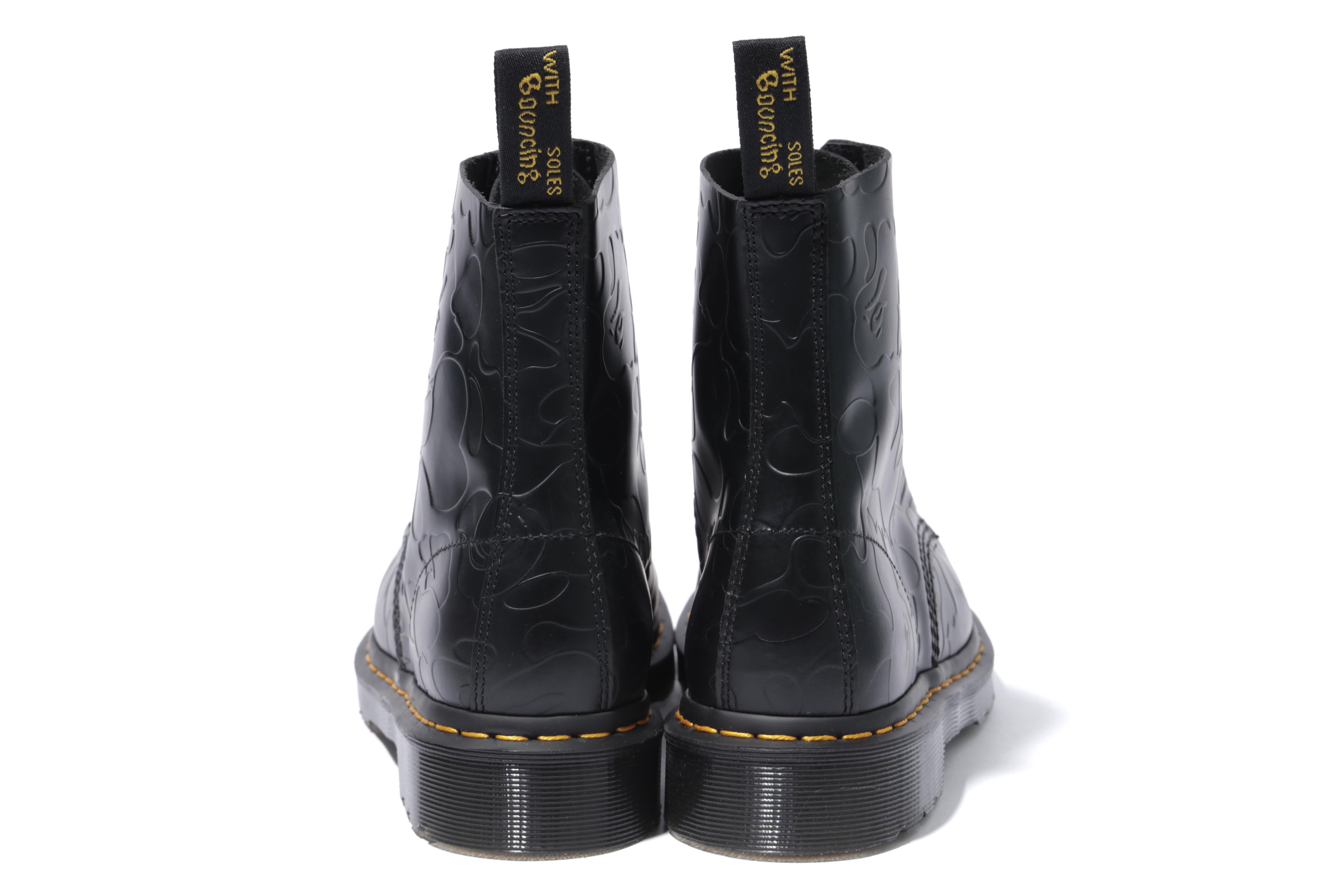 Bape x Dr. Martens 1460 'Black' (Heel)