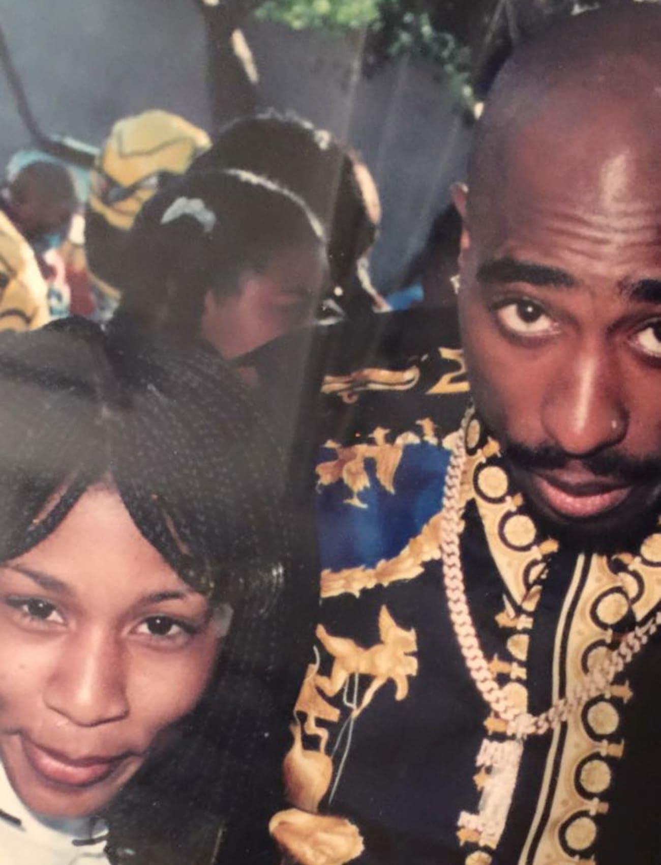 Kenya Ware with Tupac