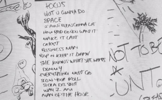 Dizzee - 'Raskit' tracklist