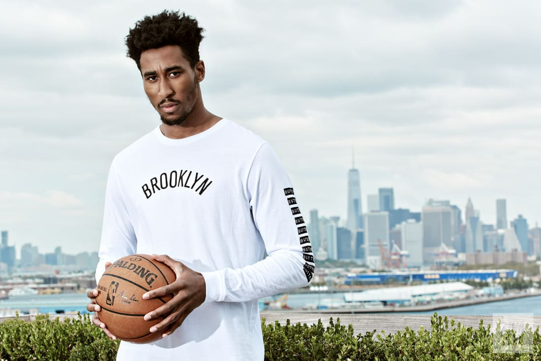 Rondae Hollis-Jefferson Nets Skyline Complex Original