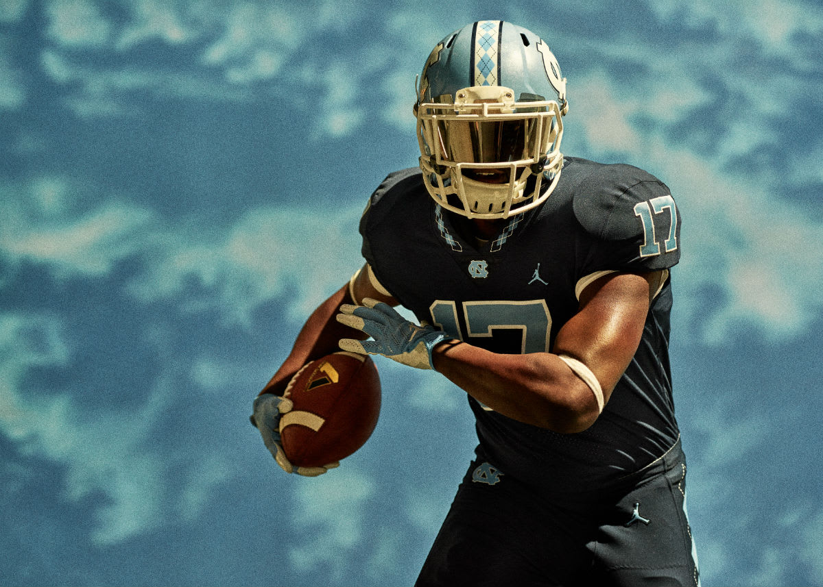 Jordan North Carolina Football Uniforms (5)