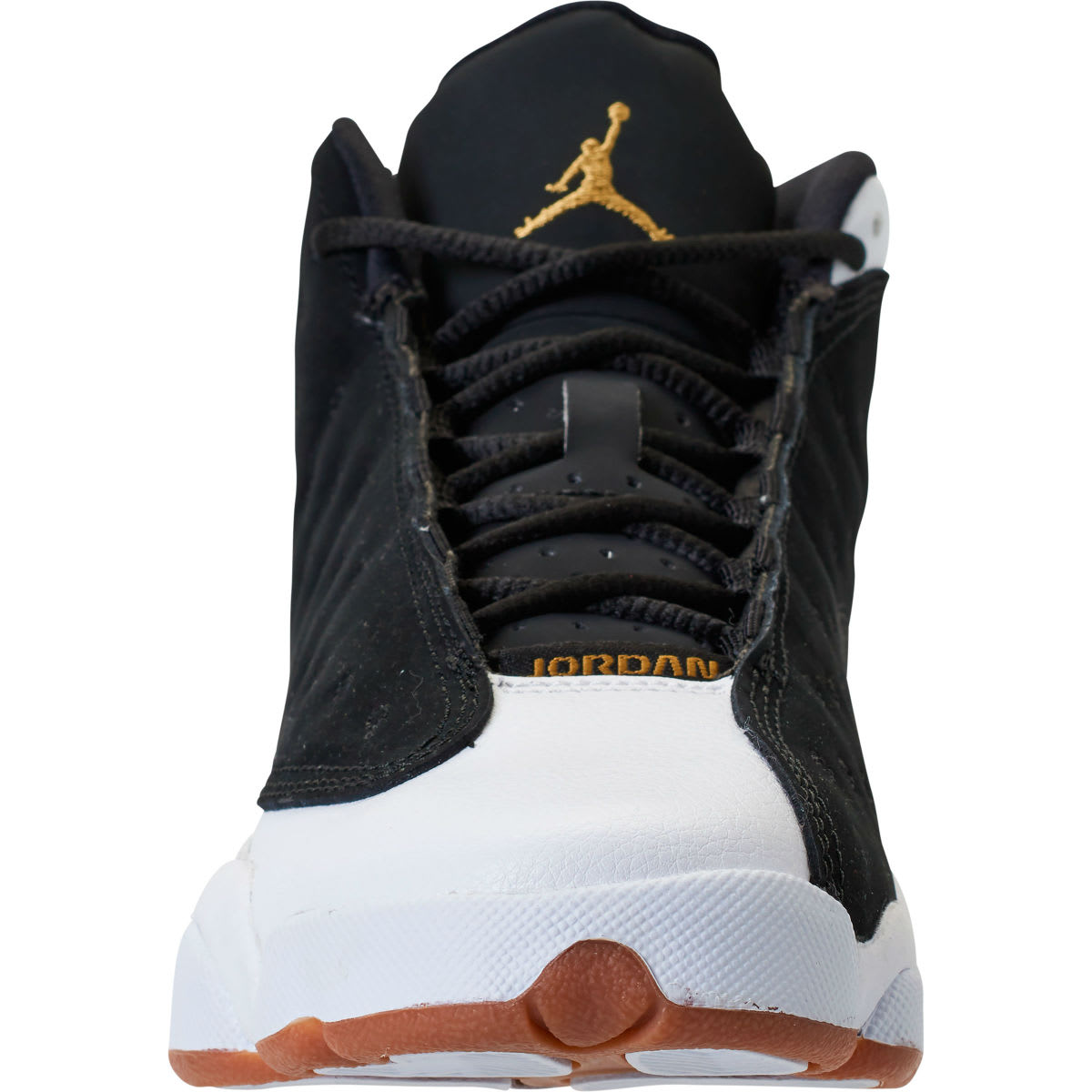 b1bc717acaa0c ... Air Jordan 13 Girls Black Gold White Gum Release Date 439358-021 Sole  Collector ...