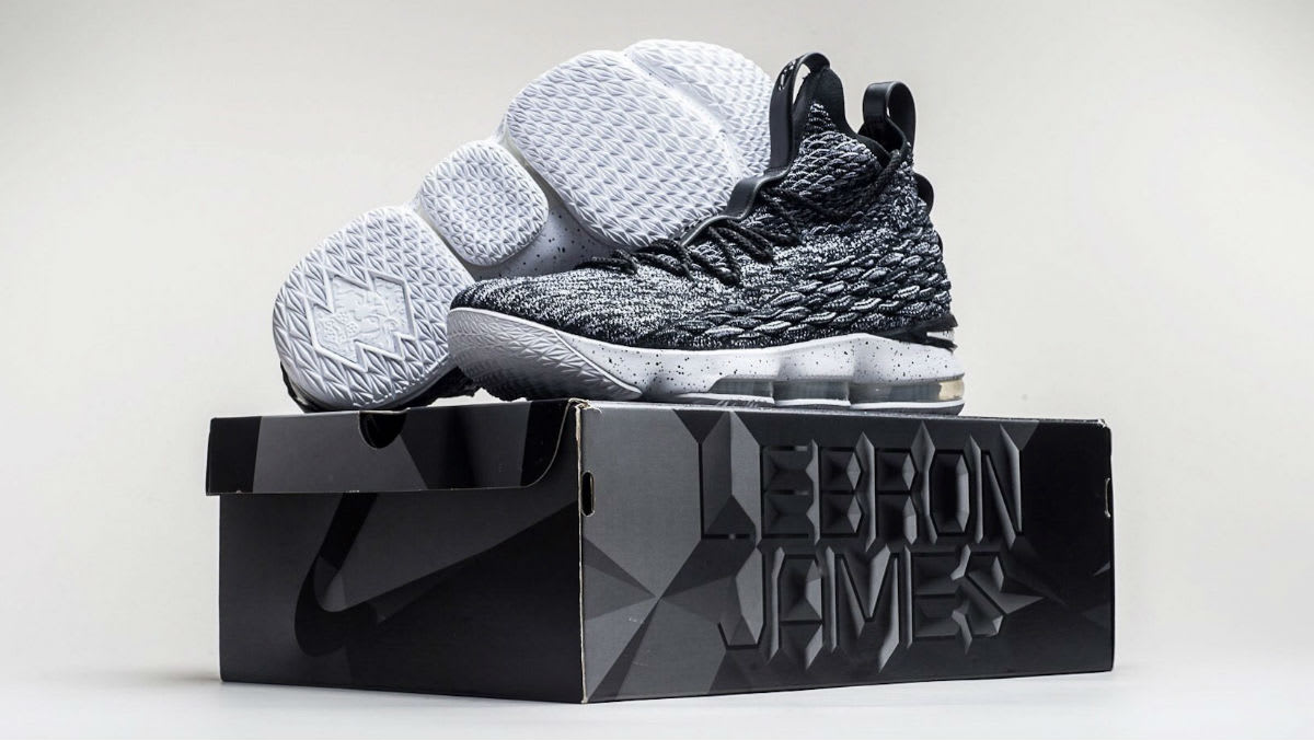 premium selection 20b61 8ec77 Nike LeBron 15 Black White Ashes Release Date 897648-002   Sole Collector