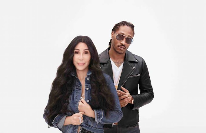 Cher and Future in The Gap campaign