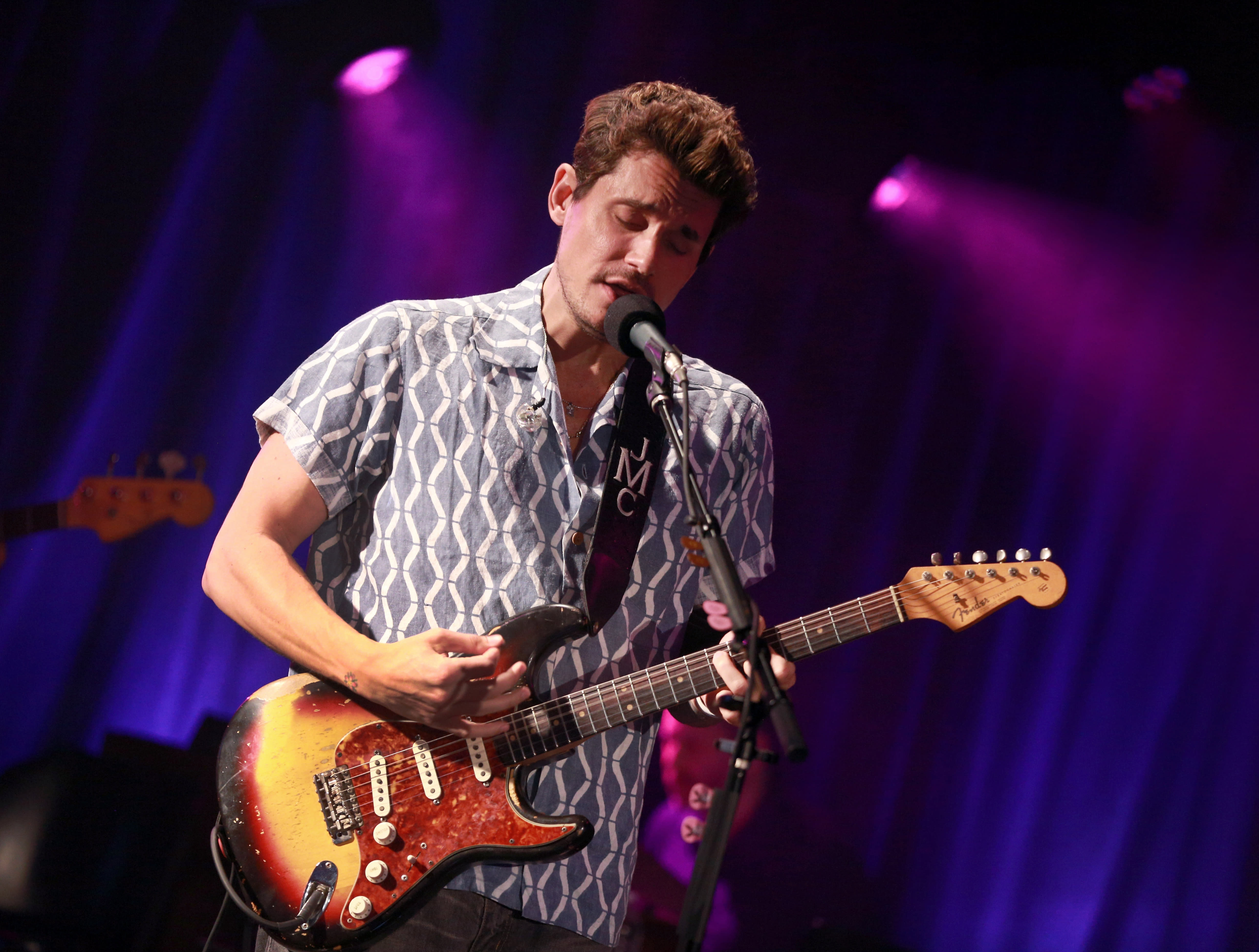 John Mayer in Visvim shirt