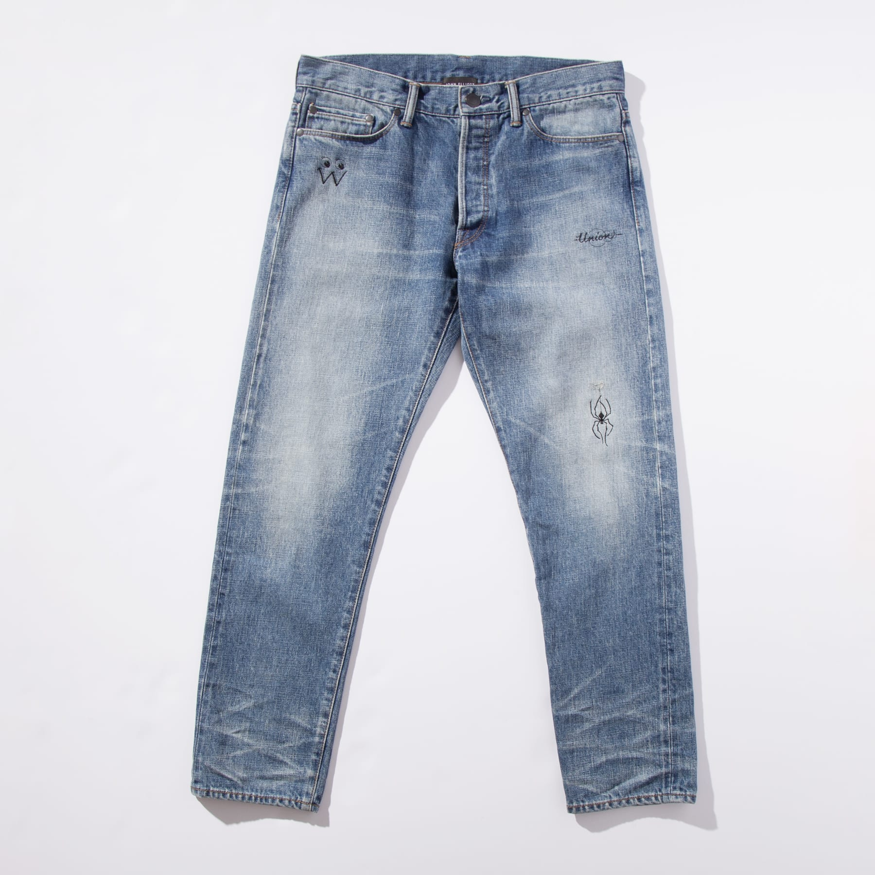 John Elliott x Union x Dr. Woo Selvedge Denim Jeans
