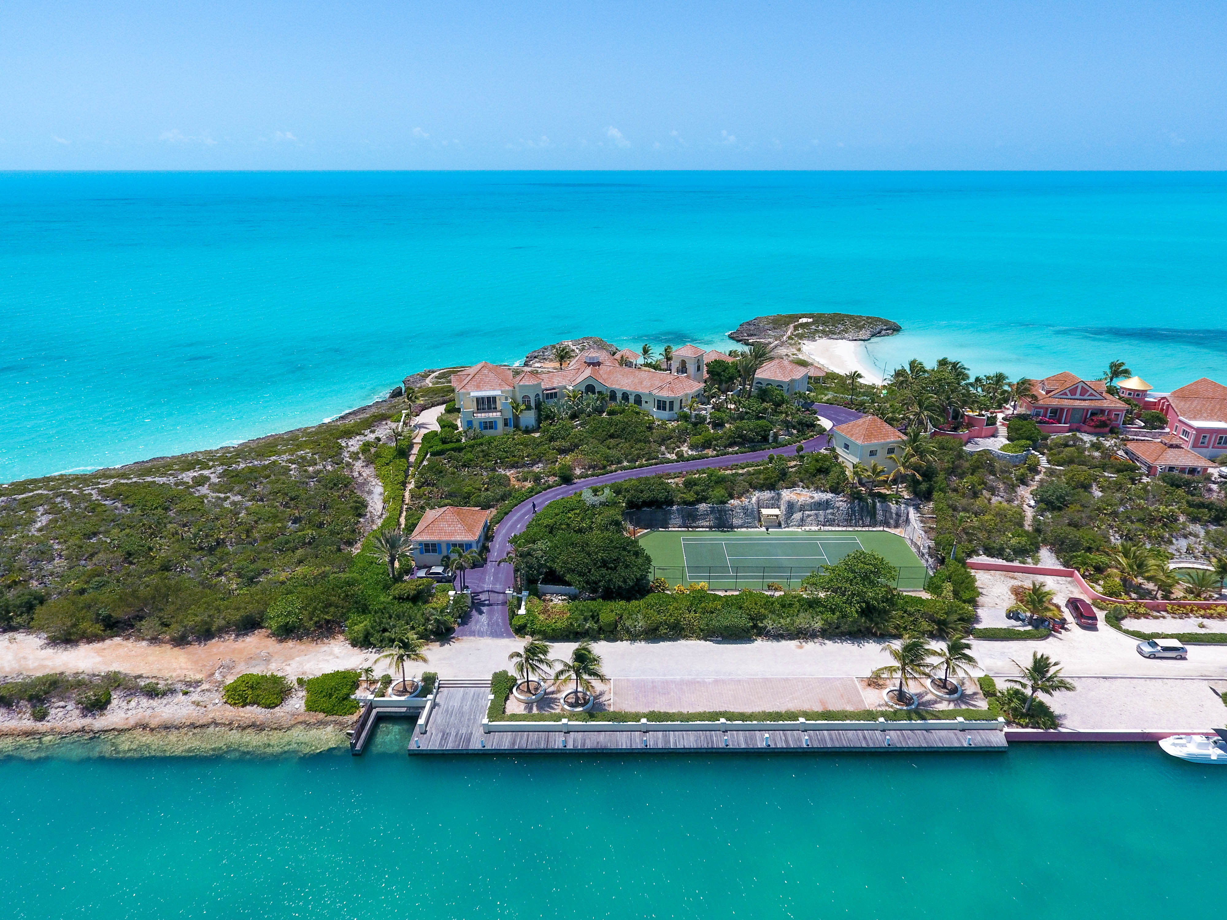 Prince 39 S Private Turks And Caicos Compound To Be Auctioned