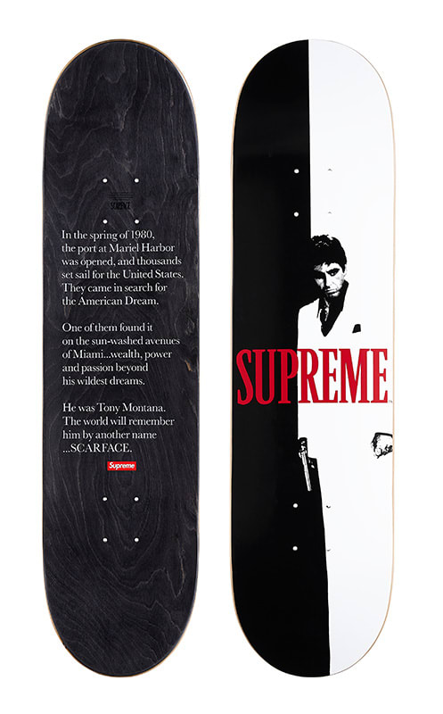 Billion Auto Group >> Supreme's 'Scarface' Collection Brings the Cocaine Classic ...