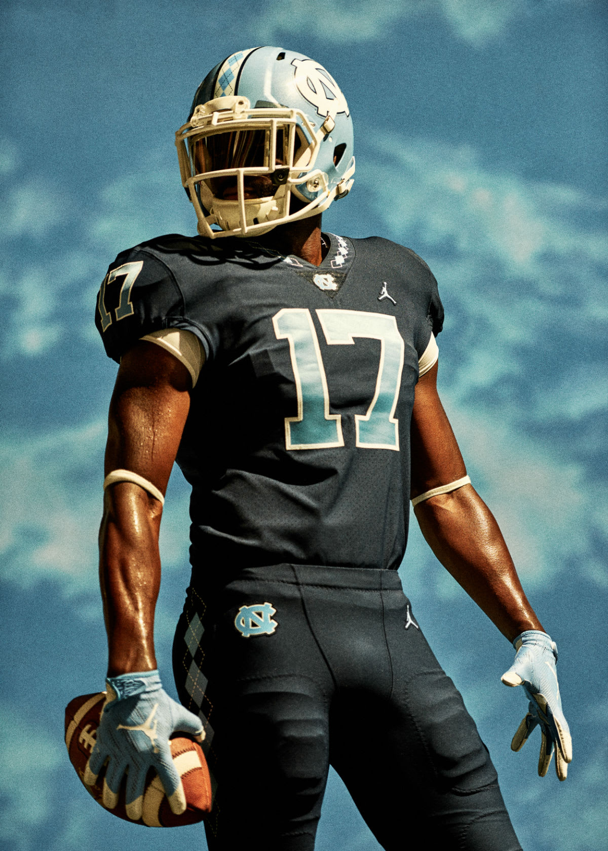Jordan North Carolina Football Uniforms (6)
