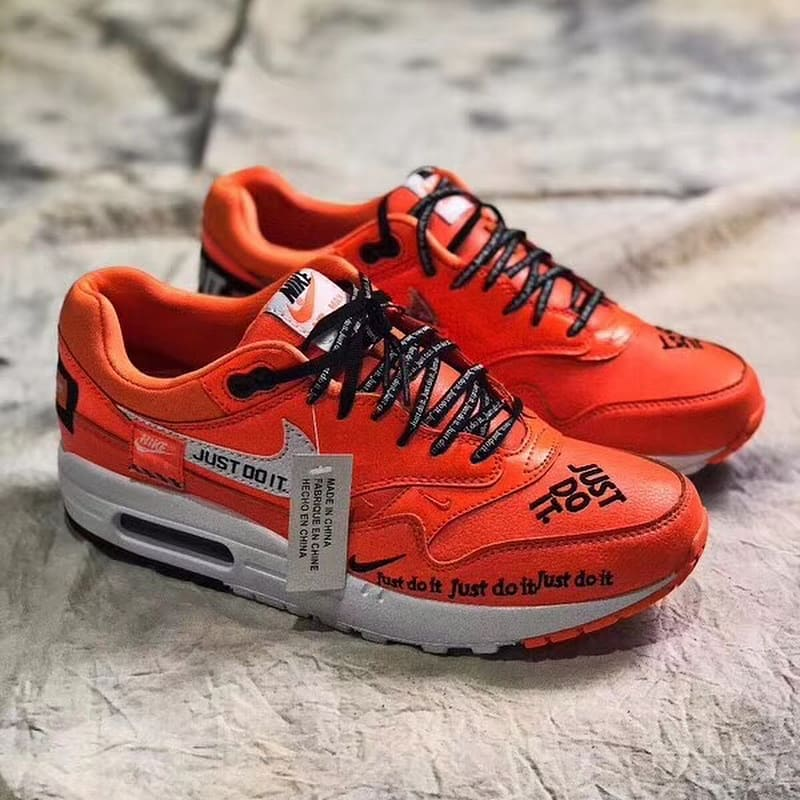 Nike Air Max 1 Just Do It Orange Release Date 917691-800 Profile ... 106d6dbc64