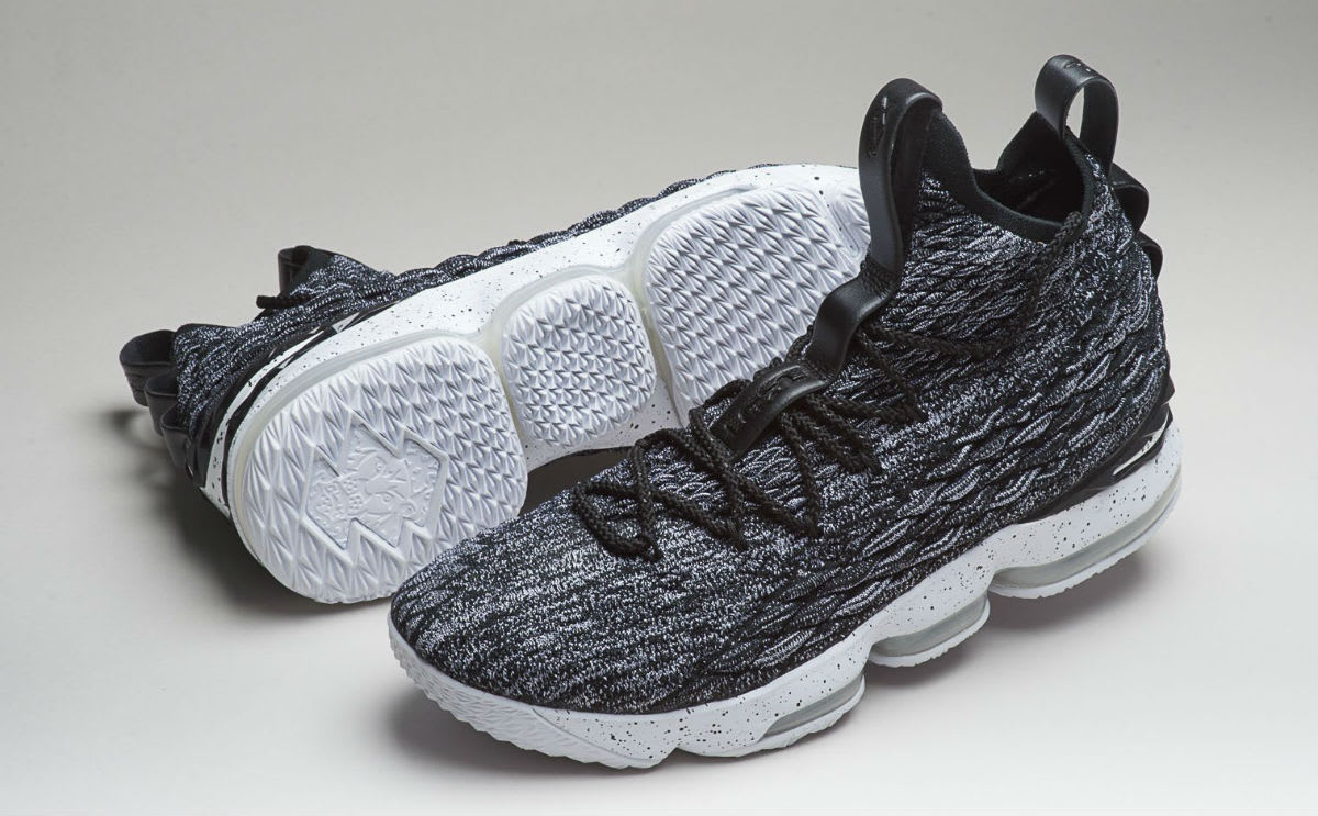 13bbe7dec338 Nike LeBron 15 Black White Ashes Release Date 897648-002 (5)